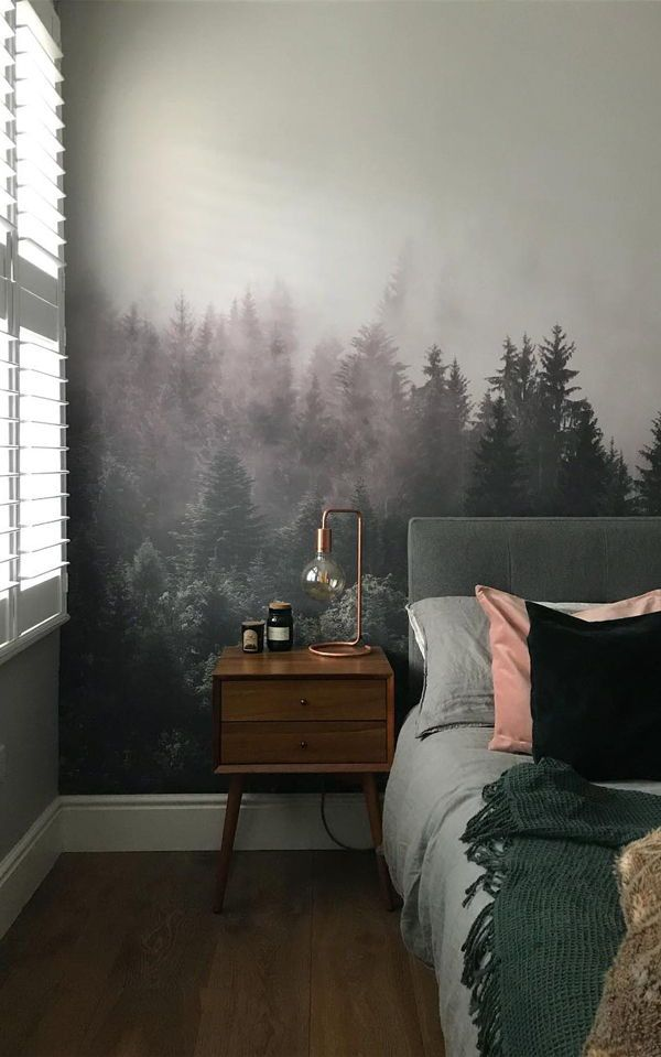 Into The Woodlands Wallpaper Mural | Modern Mural Designs for Your Home by MuralsWallpaper