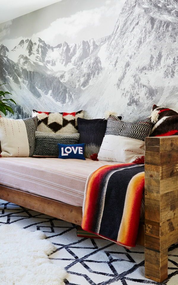 Mountain Wallpaper | Modern Mural Designs for Your Home by MuralsWallpaper