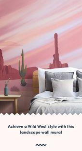 Cowboy Wallpaper | Cactus Wall Murals | Murals Wallpaper