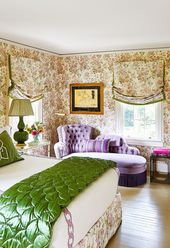 Color and Pattern Punch Up the Classic Decor in This Hamptons Home