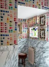 kit kemp architectural digest - Google Search, john derrian wallpaper/fabric