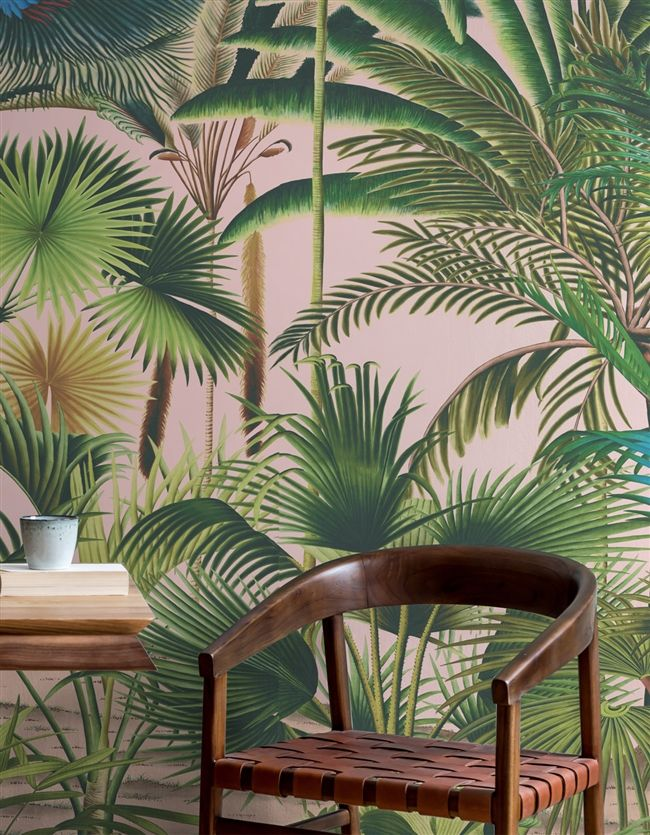 Palmetum | Biophilia Mural | Mural Panels | MuralSources.com