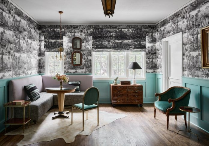 Wanderlust Wednesday: Commodore Perry Estate - The English Room