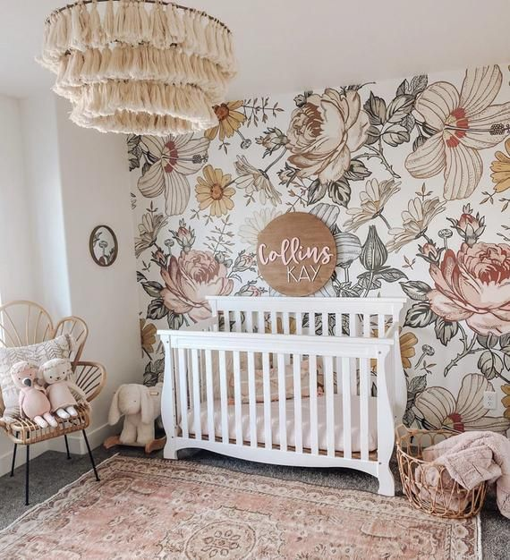 Harlow // Peel and Stick Wallpaper // Removable