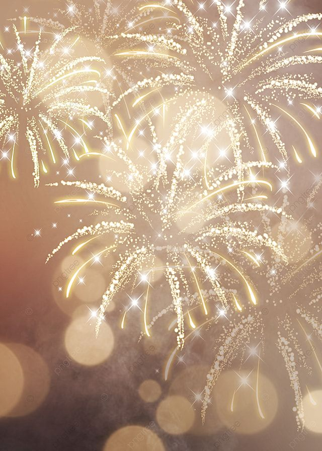 Glare Happy New Year Firework Background